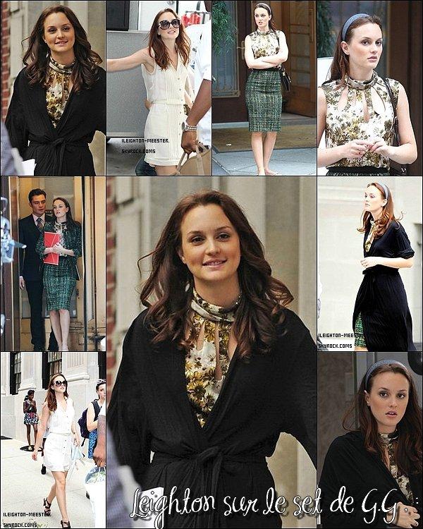 03.09.2010 : Leigh' sur le set de GG