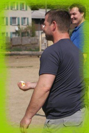 Pâques au Ranch -> Lancer de l'oeuf!