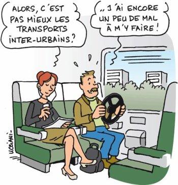 Vive la joie dans les transports en commun!