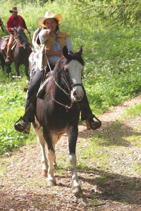 Remise à cheval!