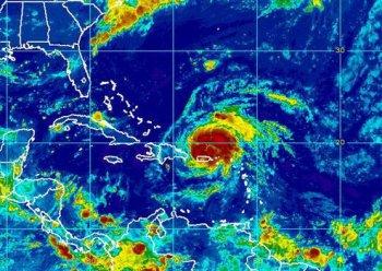 L'Ouragan Irène