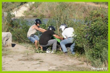 Camargue 2011 -> Quad vers Aigues-Mortes