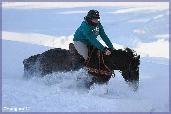 Skijoering à L'Etivaz... oups!