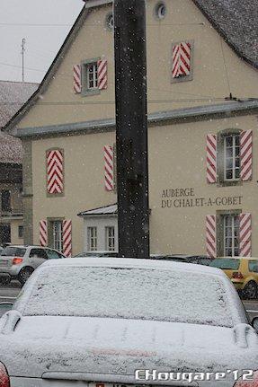 Première neige 2012!
