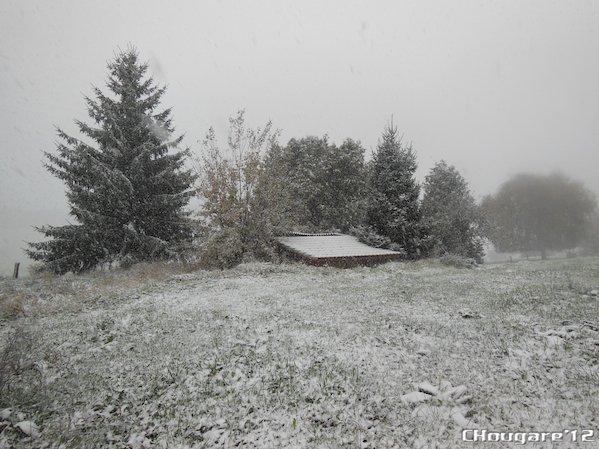 L'hiver est vraiment là!
