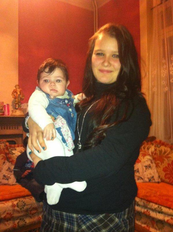 moi et ma petite soeur kenza