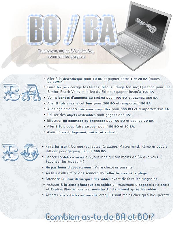 Qu'est-ce que les BO et BA ? Comment les gagner et gérer ?