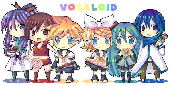 Les vocaloid