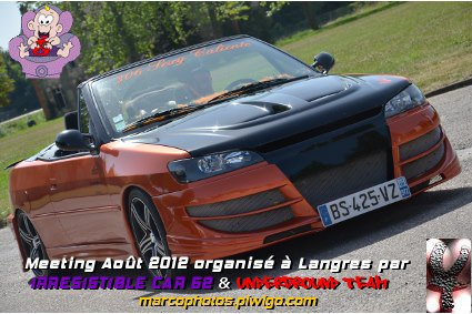 meeting de l'irresistible car 52 Langres top 20 esthetique