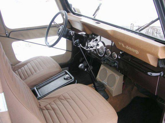 Jeep Cj7 Interior
