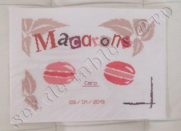 set de table macarons plastifi blog de mescreations56. Black Bedroom Furniture Sets. Home Design Ideas