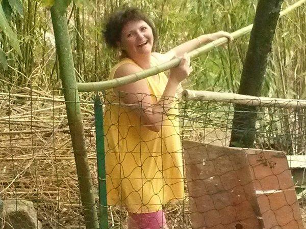 porte serviettes de toilette en bambous