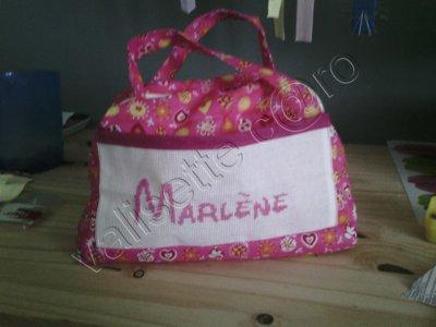 valisette et trousse pr Marlène