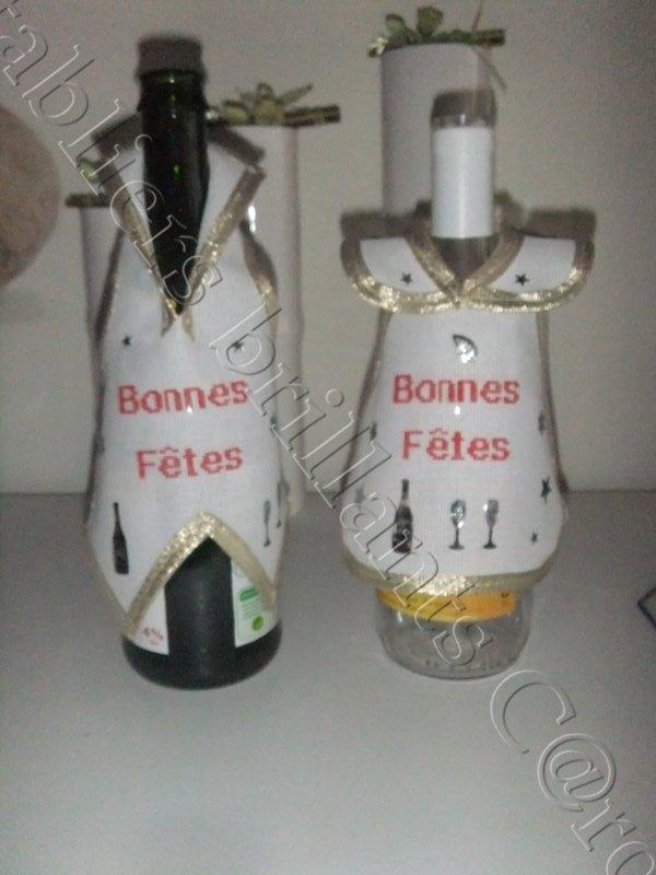 Tablier robes et gilets à bouteille