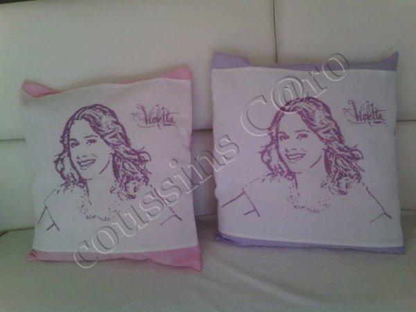coussins Violetta