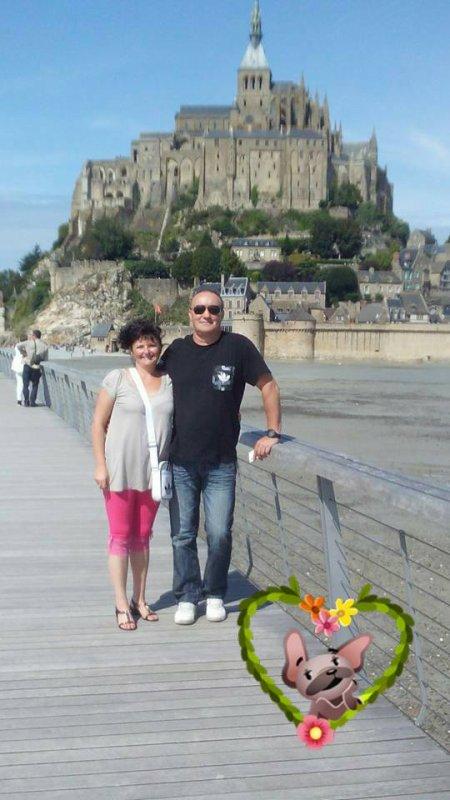 nouveaux supports : hibou,Winnie...et sortie Mont St Michel