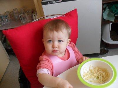 Baby Lunah et son Repas