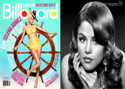 Selena pose pour le celebre magazine Billboard
