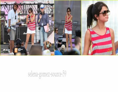 Selena  au repétitions des  MuchMusic Video Awards Rehearsals le 18 juin 2011