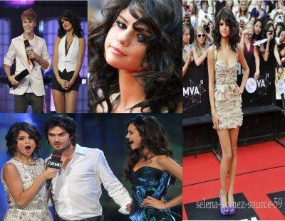 Le 19 juin dernier avait lieu le traditionnel Much Music Video Awards à Toronto. La présentatrice de l'émission était nul autre que Selena Gomez!!