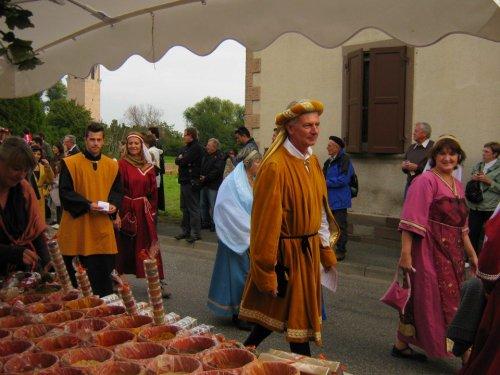 Marché médiéval d'Eschau