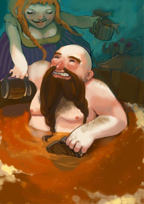 Des nains et de la bière