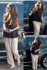 Selena arrivant à un rendez-vous à Los Angeles le 5 Mars 2014