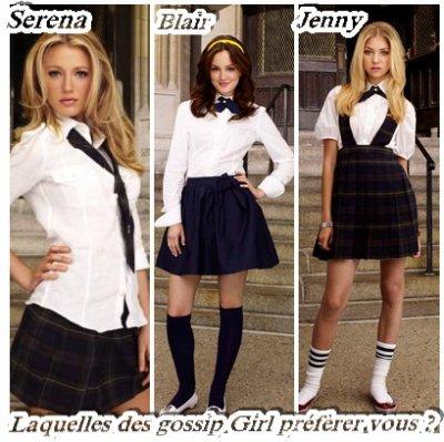 Laquelles des Gossip Girl Préfèrer Vous ?