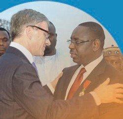 Sénégal 2012-Déjeuner à l'Élysée