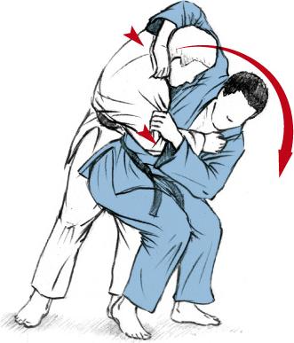KOSHI-GURUMA 首投げ