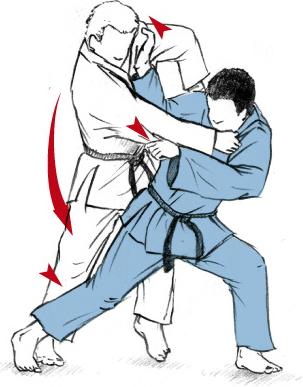 TAI-OTOSHI 体落