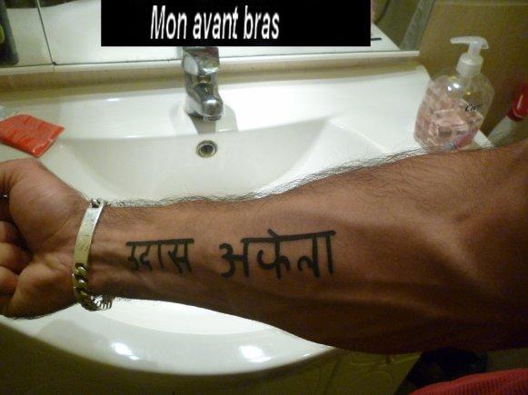 Voila mes new tatouage