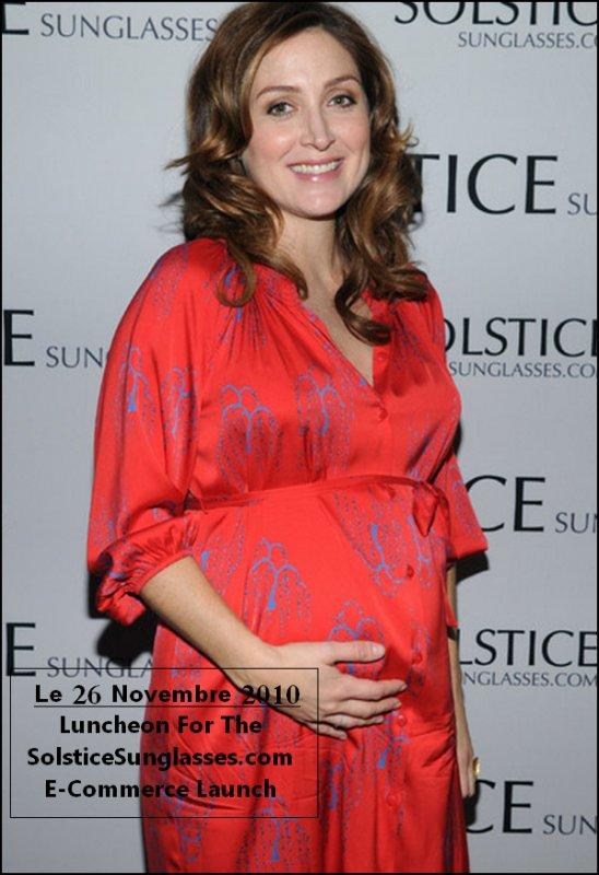 Un gros bidon ; veut dire un accouchement plus très loin ; veut dire un joli(e?) bébé; veut dire des sorties ; veut dire la saison 2 de Rizzoli & Isles !