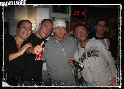 Eminem dans la Radio Libre !