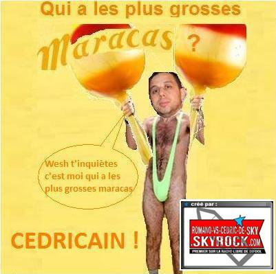 RVSCDS > Création - Les singles de Cédric