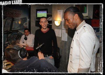 Didier Drogba dans la Radio Libre !