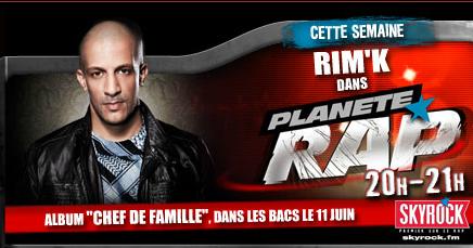 Planète Rap > Rim'K - Semaine du 4 Juin 2012