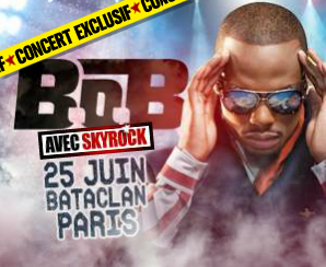 Evènement > Concert de B.O.B le 25 Juin 2012