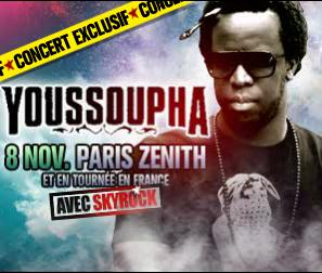 Evènement > Concert Youssoupha - Le 8 Novembre 2012