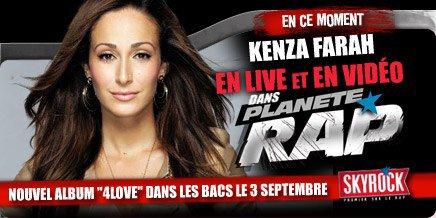 Planète Rap > Kenza Farah - Semaine du 3/09/12 au 7/09/12