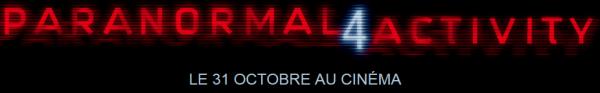 Evènement > Film Skyrock - Paranormal Activity 4 (Au cinéma le 31 Octobre)