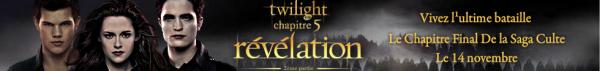 Evènement > Film Skyrock - Twilight Chapitre 5 : Révélation 2ème partie (Sortie dans les salles le 14 Novembre)