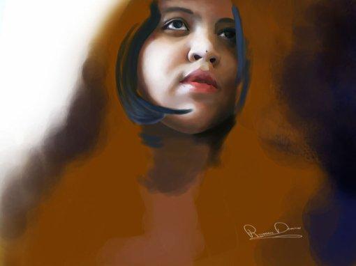 Portrait réalsite digital painting !