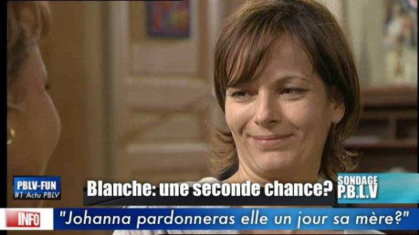 SONDAGE: JOHANNA PARDONNERA ELLE BLANCHE (SA MÈRE) ?
