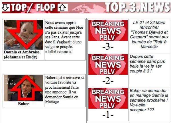 "COUP DE COEUR TV , PBLV-FUN (BLOG) ET PBLV-FUN (FB) ""PRÉSENTE BREAKING NEWS PB"