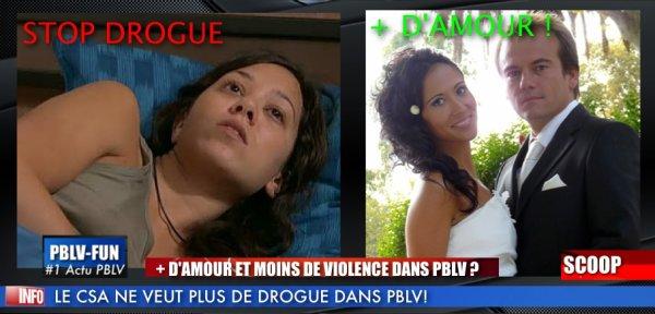 """LE CSA VEUT """"+ D'AMOUR"""" ET """"MOINS DE DROGUE"""" DANS PBLV !"""