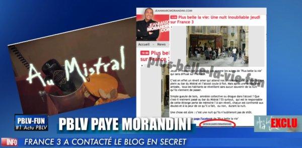 EXCLU: FRANCE 3 SE PAYE DE LA PUB DISSIMULE SUR LE BLOG DE MORANDINI