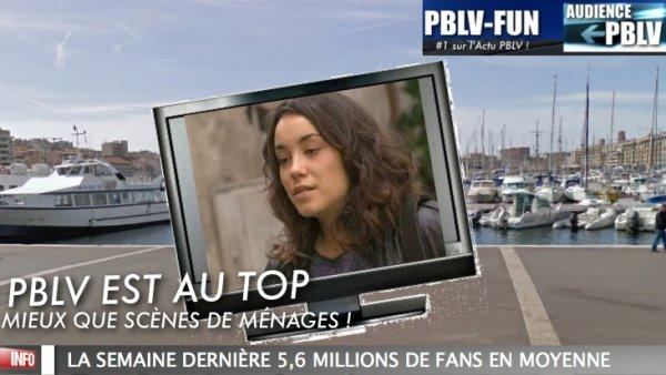 PLUS BELLE LA VIE AU TOP ET SUPÉRIEUR QUE SCÈNES DE MÉNAGES (M6)