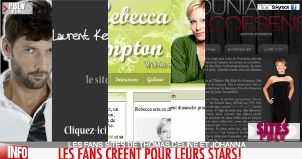 SITES PBLV (3/3): LES SITES NON OFFICIELS DES FANS