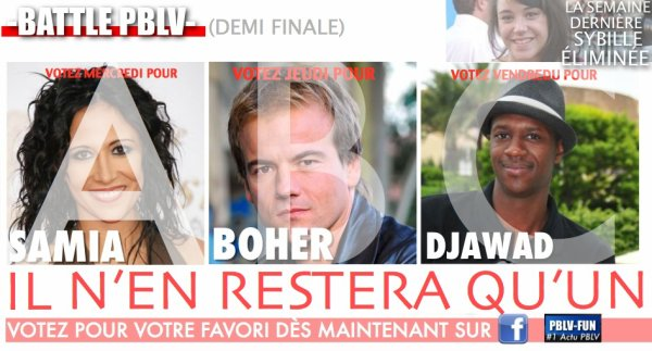 DEMI FINALE DE BATTLE PBLV
